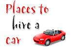 Places to hire a car