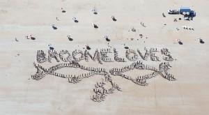 Cable Beach Human Whale Picture