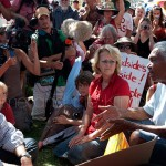 Tony Burke meeting with protectors of country