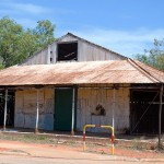 Old pearl shell sorting shed