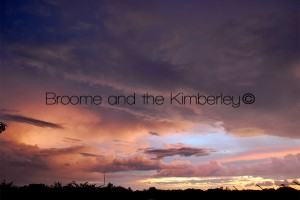 Wet Season Broome Sunset