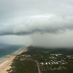 Wet Season storm approaching Broome