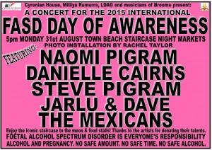 FASD Awareness Concert 2015