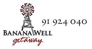 Banana Well Getaway Logo