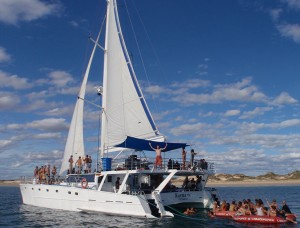 Sunday Sesh aboard the Karma IV Yacht