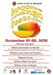 Broome Mango Festival Poster