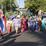 Thailand costumes at 2015 Shinju Parade