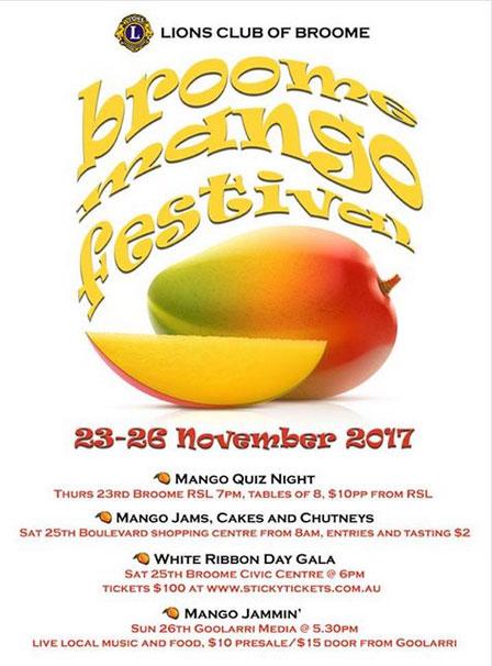 Broome Mango Festival 2017 Broome And The Kimberley